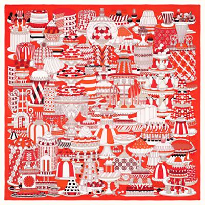 La Patisserie Francaise scarf 90