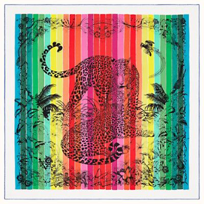 Jungle Love Rainbow scarf 90