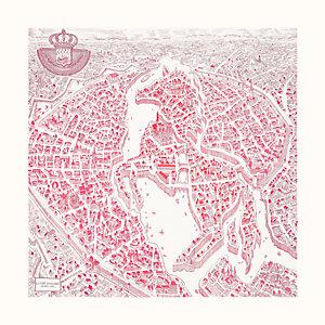 La Cite Cavaliere scarf 90