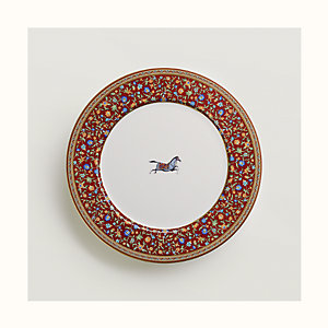 Cheval d'Orient dinner plate