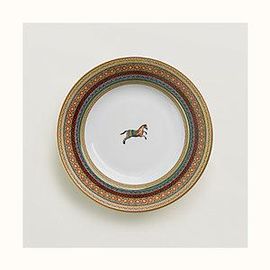Cheval d'Orient soup plate