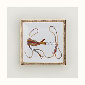 Cheval d'Orient square plate