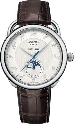 Arceau Grande Lune watch, 43mm