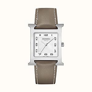 Heure H watch, 30.5 x 30.5mm