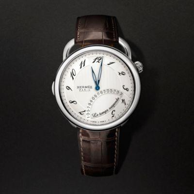 Arceau Le temps suspendu watch, 43mm