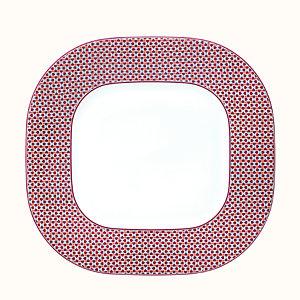 Tie Set square platter