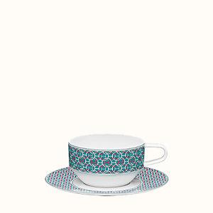 Tie Set tea cup and saucer