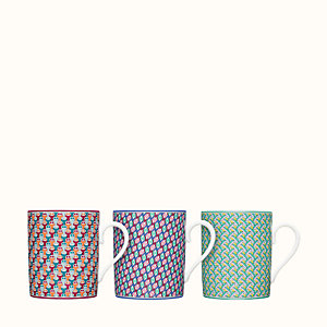 Tie Set set of 3 mugs