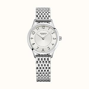 Slim d'Hermes watch, 25mm