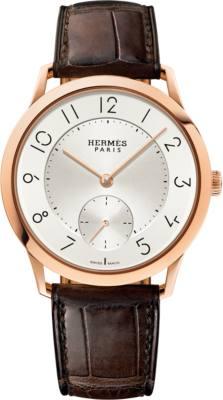 Slim d'Hermes watch, 39.5mm