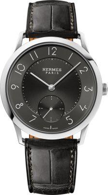Slim d'Hermes watch, large model 39.5mm