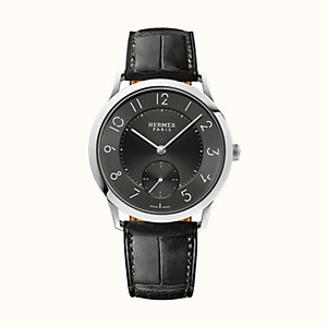 Slim d'Hermes watch, large model 39.5 mm