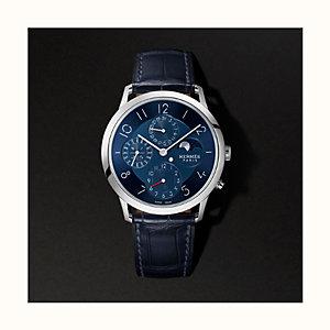 Slim d'Hermes Quantieme Perpetuel watch, 39.5mm