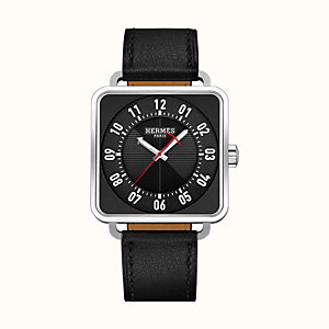 Carre H watch, 38 x 38 mm