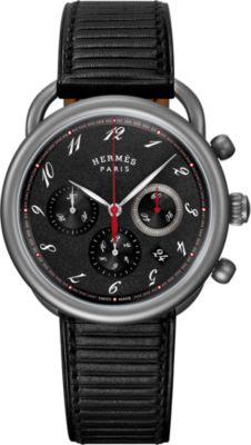 Arceau Chronographe watch, 41 mm