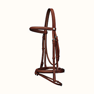 French noseband snaffle
