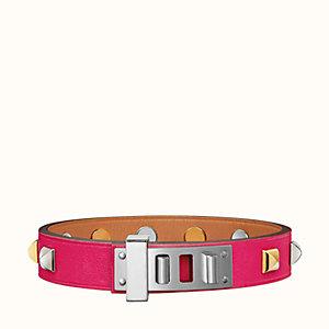 Mini Dog Clous Carres bracelet