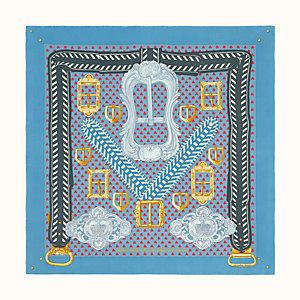 Boucles et Galons du Tsar wash scarf 90