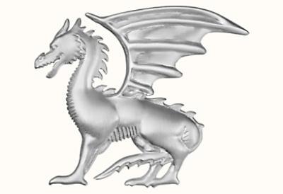 Talismans Dragon Aile badge