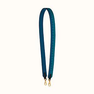Tressage cuir Au galop 30mm bag strap