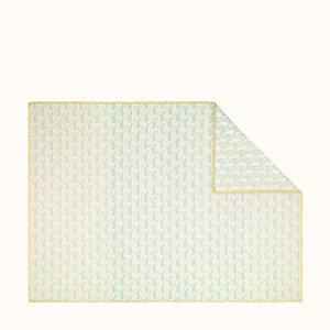 Animaux Pixel baby blanket