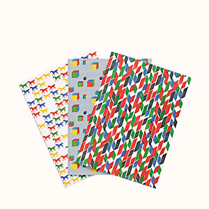 "Set of 3 ""Cavalcolor"" notebooks"