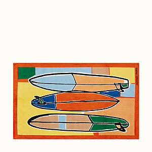 3 Surfs beach towel