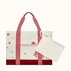 Hermes Circus nappy bag