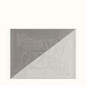 Double Horse Constellation blanket
