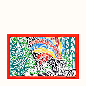 Jaguar Quetzal pareo