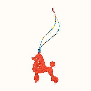 Royal poodle charm