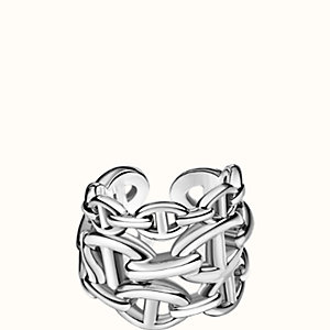 Chaine d'Ancre Enchainee ring, large model