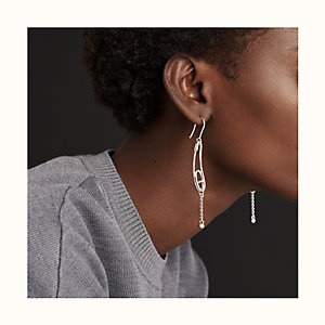 Chaine d'Ancre Punk earrings, small model