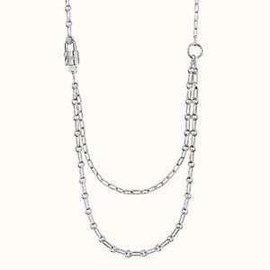 Alphakelly long necklace, medium model