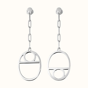Chaine d'Ancre Game earrings, medium model