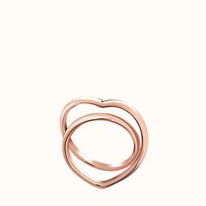 Vertige C?ur ring, medium model