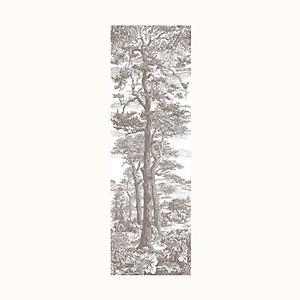 Campagne Buissonniere - Cypres et Pins Sylvestres decorative panel