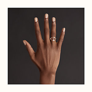 Chaine d'Ancre Punk ring, small model