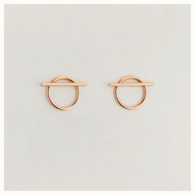 Echappee Hermes earrings, medium model