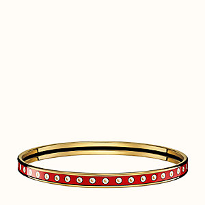Colliers de Chiens Pois bangle