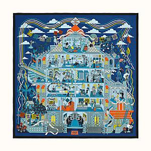 La Maison des Carres shawl 140