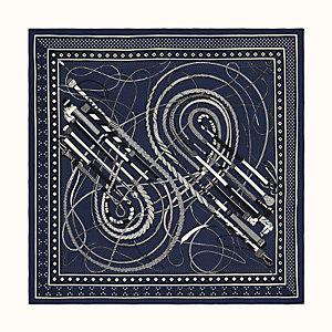 Fouets et Badines Bandana shawl 140