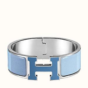 Clic Clac H Rainbow bracelet