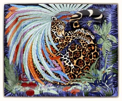 Jaguar Quetzal change tray