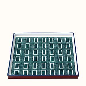 Perimetre square tray, large model