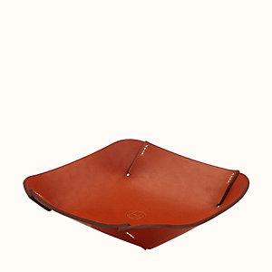 Pli'H square change tray, small model