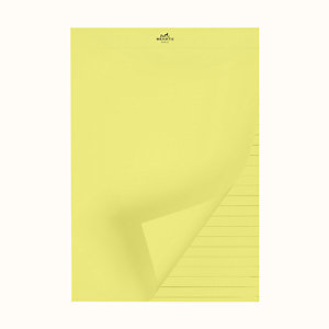 Yellow Pad notepad refill, small model