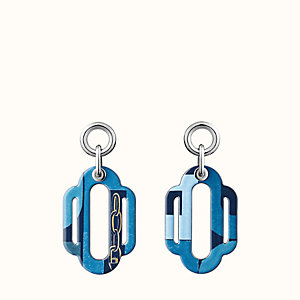 Attelage Carre Taquin earrings