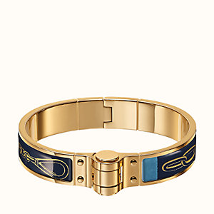 Carre Taquin hinged bracelet