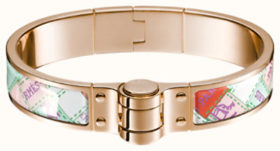 Bolduc au Carre hinged bracelet